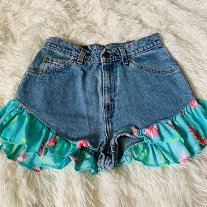 Furst Of A Kind Vintage Levi's Denim Shorts